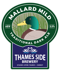 "Mallard Mild Award Winning Made for Mild May annually Mallard Mild (OG 1034; ABV 3.5%) Traditional dark mild, sweeter and malty, brewed in the spring in conjunction with CAMRA's ""Make May Mild Month"" campaign. ABV (3.4%)"