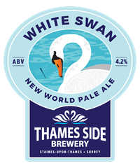 White Swan Our signature Ale White Swan Pale Ale (OG 1042; ABV 4.2%) Hoppy US style pale ale, bursting with Chinook and Columbus hops from Washington State in the US Northwest, to give it a gorgeous citrus flavour